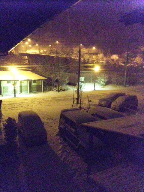 雪かき決定(<br />  ┬┬_┬┬)
