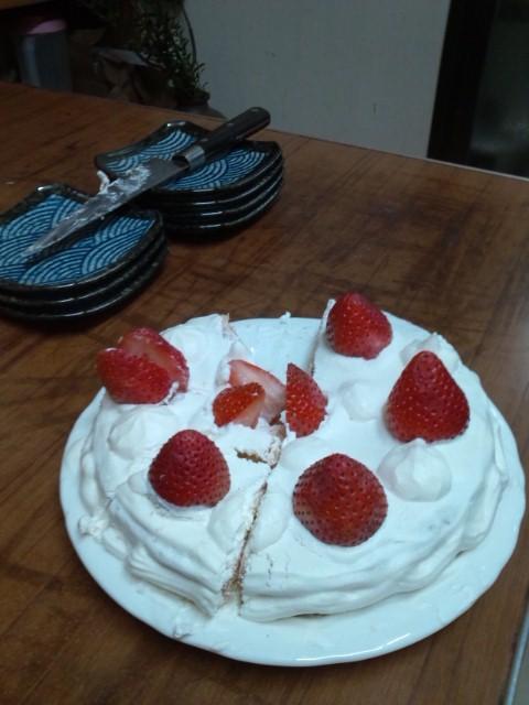 手作りケーキ(^_^)v