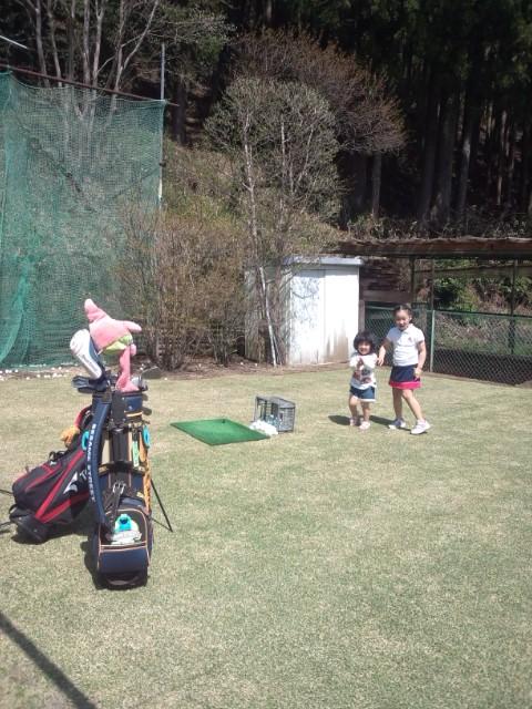 ゴルフ日和