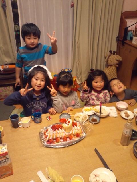 お誕生日会。